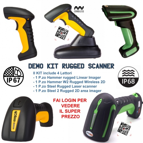 Lettori Rugged DEMO KIT