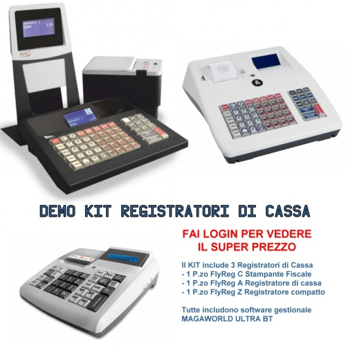 Registratori di cassa DEMO KIT